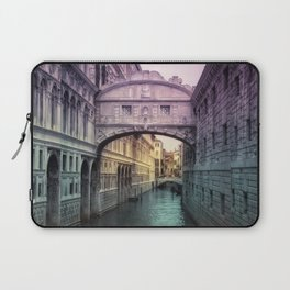 Ponte dei Sospiri | Bridge of Sighs - Venice (colored version) Laptop Sleeve