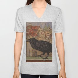 Crow and Snow Unisex V-Neck