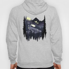 Over The Train Hoody