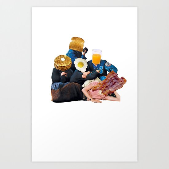 The Most Important Meal of the Day Art Print