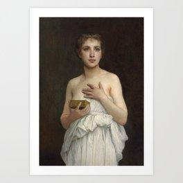 "William-Adolphe Bouguereau ""Pandore"" Art Print"