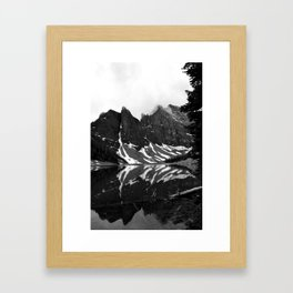 Pour into the Smoking Gulf Framed Art Print