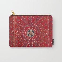 Ura Tube Suzani Uzbekistan Embroidery Print Carry-All Pouch