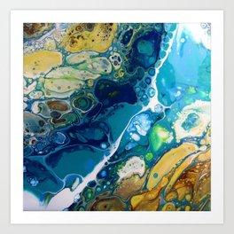 Where the Rivers Flow Art Print