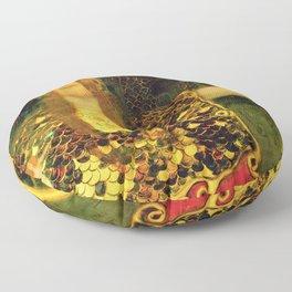 "Gustav Klimt ""Minerva or Pallas Athena"" Floor Pillow"