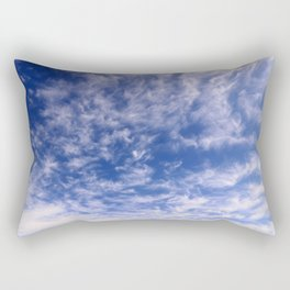 The Endless Deep Blue Sky Rectangular Pillow