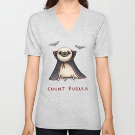 Count Pugula Unisex V-Neck