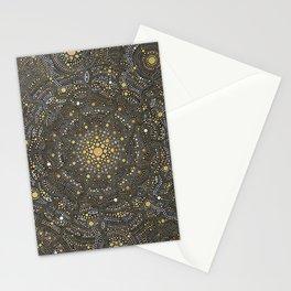 Cosmic Breath - Dot Mandala Stationery Cards