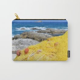Fishing by the ocean Carry-All Pouch