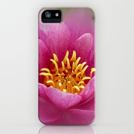 soft water lily II iPhone Case