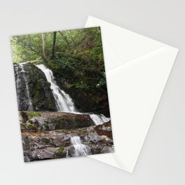 Tennessee Waterfall Smoky Mountains Color Photo Stationery Cards