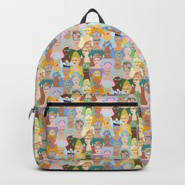 Rococo Hairstyles Backpack