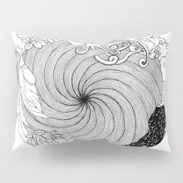 Octopus Spiral Pillow Sham