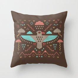 The Legend of Thunderbird Throw Pillow
