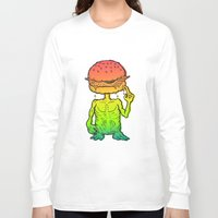 et Long Sleeve T-shirts featuring ET Burger by beeisforbear