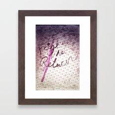 &promo Framed Art Print