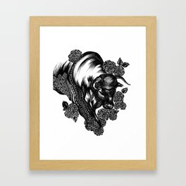 Taurus Framed Art Print