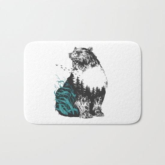 Bear Trip Bath Mat