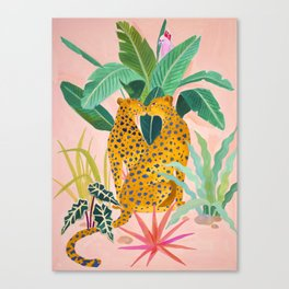 Cheetah Crush Canvas Print