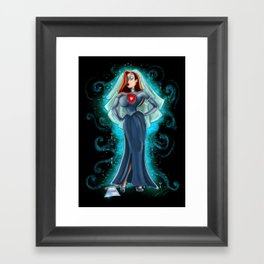 Jessica Ghost Bride Rabbit by Topher Adam 2017 Framed Art Print