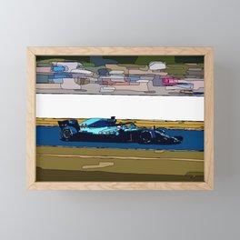 Formule 1 racing Framed Mini Art Print