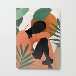 Tropical Girl 10 Metal Print