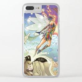 Sueño Clear iPhone Case