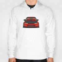 honda Hoodies featuring Honda Civic EF9 by IrvSim