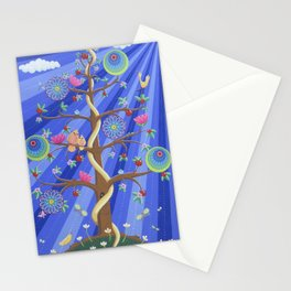 Mandala Tree Stationery Cards