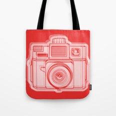 I Still Shoot Film Holga Logo - Reversed Red Tote Bag