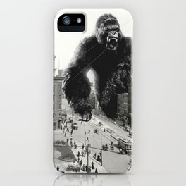 King Kong in Detroit 1907 iPhone Case