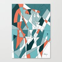 golf Canvas Prints featuring Golf by Carmen Navajas