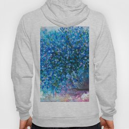Bouquet Of Forget Me Nots by Lena Owens Hoody