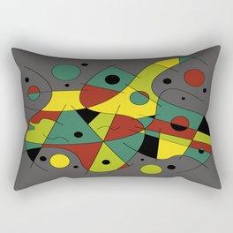 Abstract #226 The Cellist #2 Rectangular Pillow