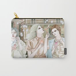 Soap Bubbles In The City Carry-All Pouch