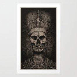 Queen Nefertiti Art Print