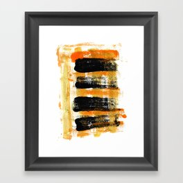 Four Energies Framed Art Print