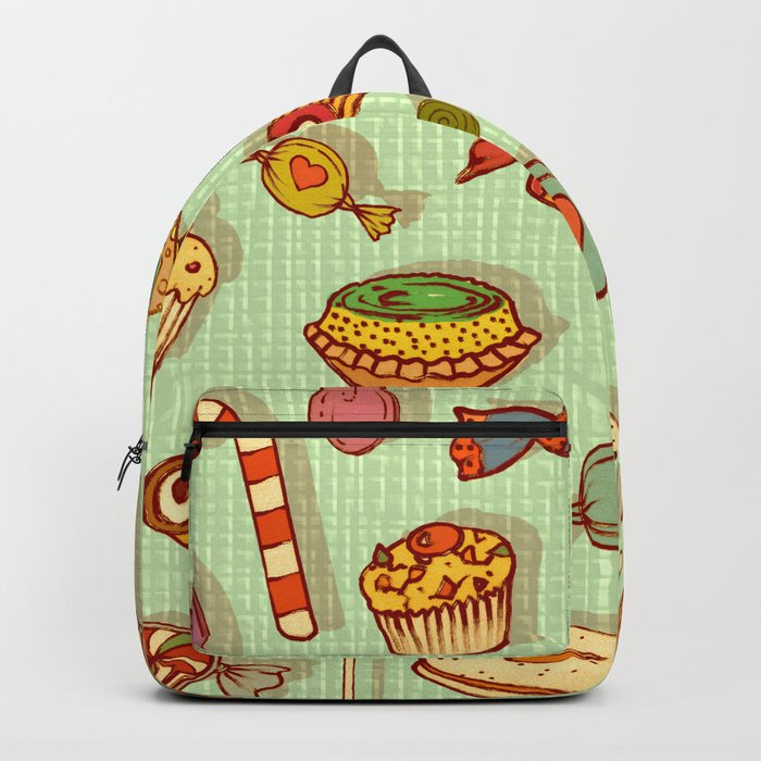 candy and pastries Backpack