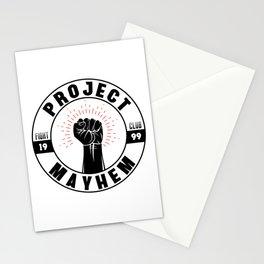 Project Mayhem 1999 Stationery Cards