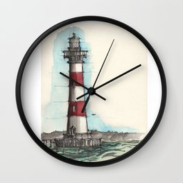 Morris Island Lighthouse Wall Clock