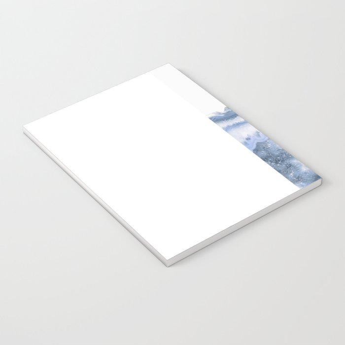 Airy Blue Agate Notebook