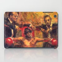 snatch iPad Cases featuring Brad Pitt in Snatch by guy ritchie by Miquel Cazanya