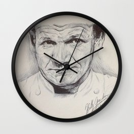 World's Most Honest Chef Wall Clock