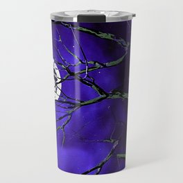 Tree Branches and a Silver Moon Travel Mug