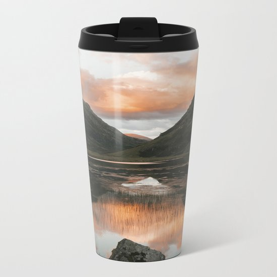 Time Is Precious - Landscape Photography Metal Travel Mug