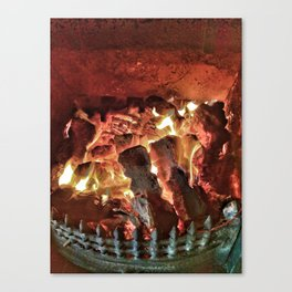 Fire-Fire..!!  Canvas Print