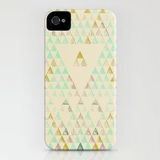 Triangle Lake iPhone (4, 4s) Slim Case