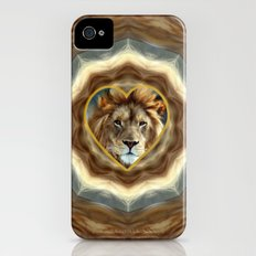 LION - Aslan Slim Case iPhone (4, 4s)