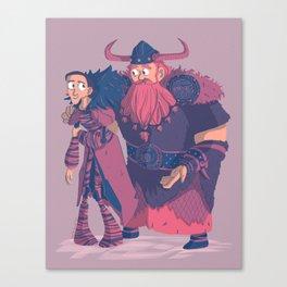 Valka&Stoick Canvas Print