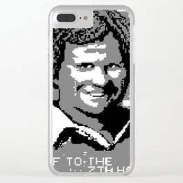 OFF TO THE 7TH HOLE (2016) Clear iPhone Case